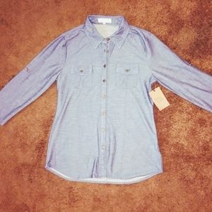 Tops - Button up long sleeve